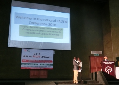 2018 National KAIZEN Conference : Embassy of Japan in the Republic